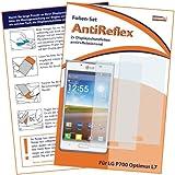 2 x mumbi Displayschutzfolie LG P700 Optimus L7 Schutzfolie AntiReflex antireflektierend