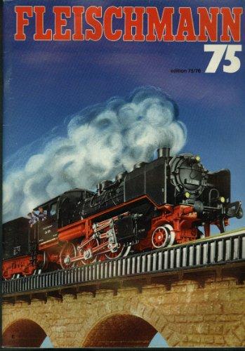 Fleischmann Ho & N-Scale Electric Trains & Motor Racing Catalog 1975