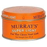 Murrays Light Pomade & Hair Dressing, Super Light, 3 oz (85 g)