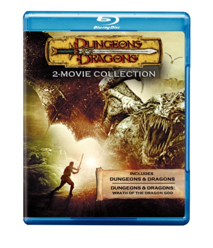 Cover art for  Dungeons & Dragons 2-Movie Collection [Blu-ray]