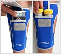 "LegBuddy Epipen & AuviQ holster Size S-M ""Dodger Blue"" from OmaxCare"
