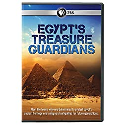 Egypt's Treasure Guardians DVD