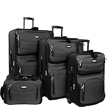 Traveler's Choice Amsterdam 4 Piece Luggage Set