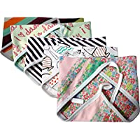 Kidbee New Born Baby Hosiery Cloth Nappy Multi Color Set Of 5b[0-6MONTHS]