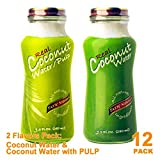 Variety Real Coconut Water with Pulp, 9.5 Ounce -- 12 per case