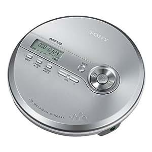 Sony Walkman D-NE-241-S Tragbarer MP3-CD-Player silber