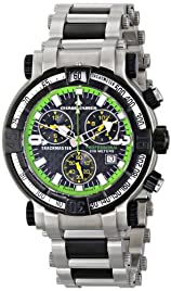 Chase-Durer Men's TrackMaster Pro Chronograph Stainless Steel Watch