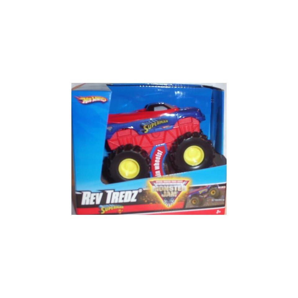 Hot Wheels Monster Jam Monster Mutt Dalmatian Rev Tredz Official Monster Truck Series 143 Scale