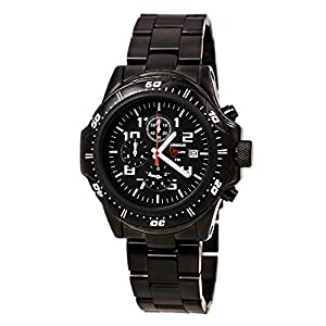 ArmourLite Professional Series Citizen Miyota OS60 Black Dial Men's Analog Watch AL AL45-B