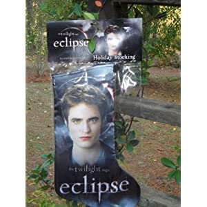 Twilight Eclipse EDWARD Holiday Stocking NECA