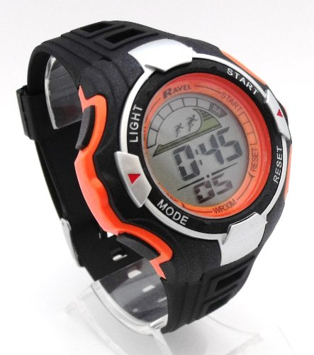 Mens Digital LCD Chronograph Sports Watch - Gift Boxed - Multi Functional- 15-22cm Strap - 3ATM - O.B