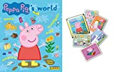 PEPPA PIG ~ PANINI STICKER COLLECTION ~ STARTER PACK & 10 STICKERS PACKETS ~ PEPPA PIG'S WORLD STICKER COLLECTION ~