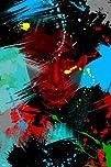 Maxwell Dickson 8220Living Color Graffiti Pop Art Canvas