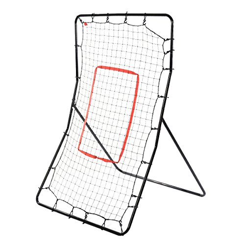 New Youth Pitching Return Baseball Training Net Pitchback Rebound Throwing Sport Steel Construction Various Sports Practice Different Angels Brand New (Pitch Back Football compare prices)