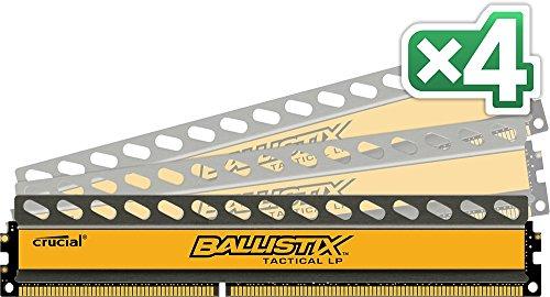 Crucial Ballistix Tactical Low Profile 16
