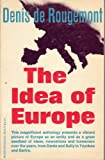 img - for The idea of Europe (Meridian Books / M251) book / textbook / text book