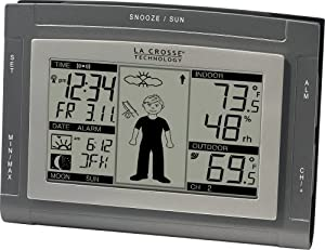 La Crosse Technology WS-9611U-IT Wireless Sun/Moon Forecast Station with Oscar Outlook