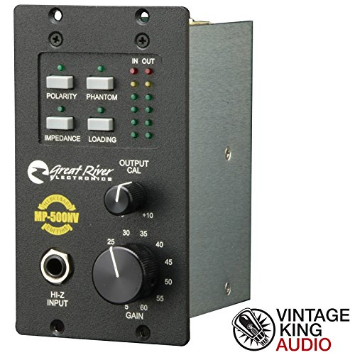 Great River MP-500NV (500NV 500 series Class A mic preamp)