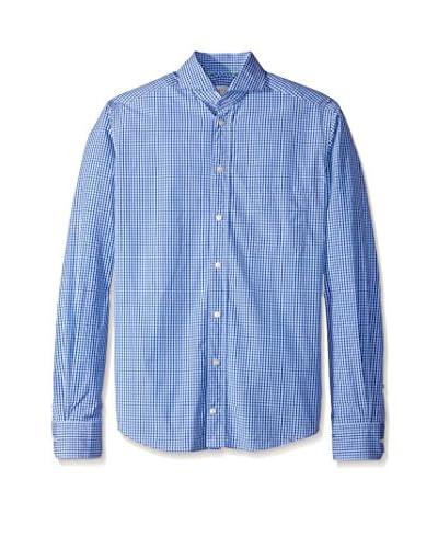 Eton Men's Slim Fit Mini Check Sportshirt