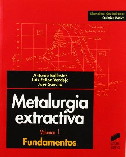 METALURGIA EXTRACTIVA descarga pdf epub mobi fb2