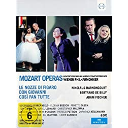 Mozart - Da Ponte Operas - Staged by Claus Guth