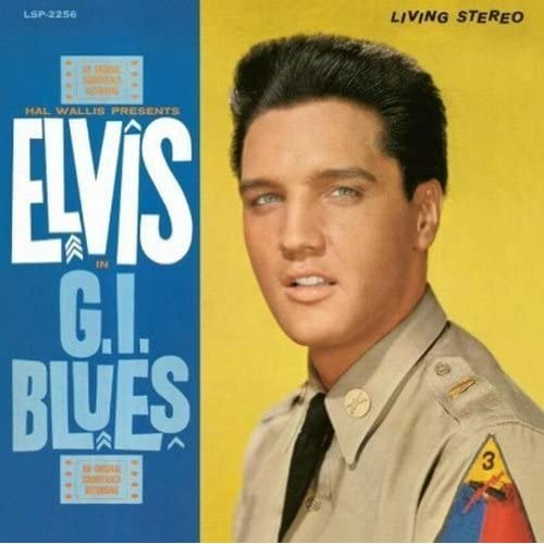 G-I-Blues-12-inch-Analog-Elvis-Presley-LP-Record
