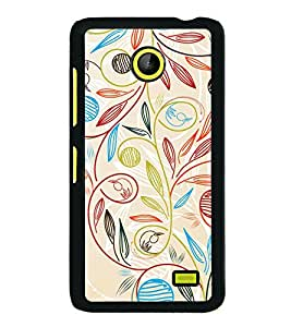 Beautiful Pattern 2D Hard Polycarbonate Designer Back Case Cover for Nokia X :: Nokia Normandy :: Nokia A110 :: Nokia X Dual SIM RM-980 with dual-SIM card slots