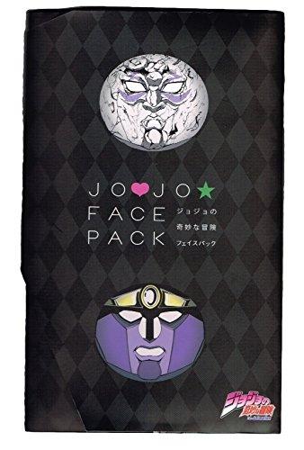 ジョジョの奇妙な冒険フェイスパック 石仮面 スタープラチナ