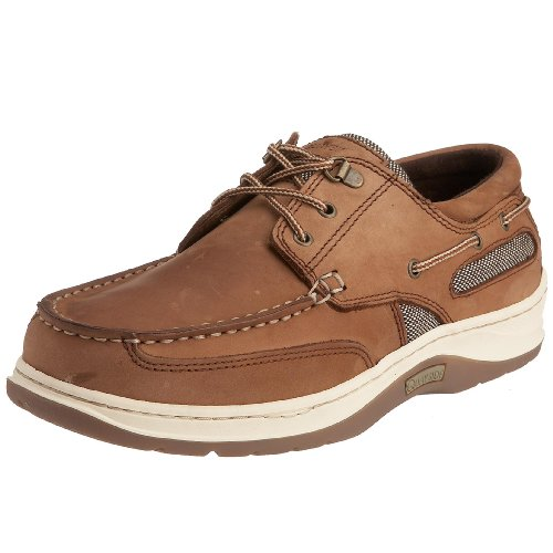 Quayside Men's Sydney Boat Shoe Walnut qsydwaxxxx42 8 UK