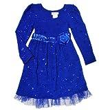 Bonnie Jean Girls Ribbon Trim Knit Dress