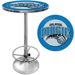 Orlando Magic NBA Chrome Pub Table Orlando Magic NBA Chrome Pub Table by Trademark Global