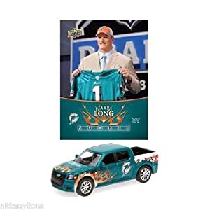 NFL Ford SVT Adrenalin Concept Die-cast - Dolphins with Jake Long Card - Miami Dolphins