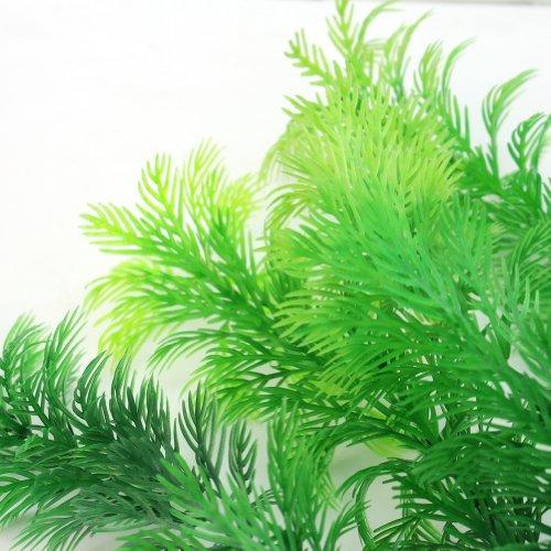Finta pianta artificiale decorazione acquario casa 30x8cm for Acquario per pesci e tartarughe