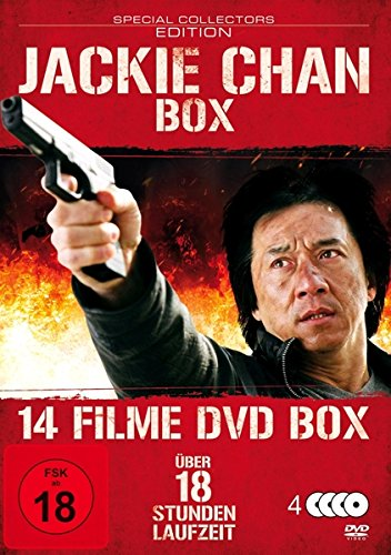 Jackie Chan Box (14 Filme) [4 DVDs] [Special Collector's Edition]