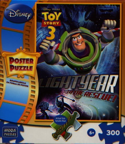 Cheap Mega Brands Disney Pixar Toy Story 3 Buzz 300 Piece Poster Puzzle (B004HM0R6O)