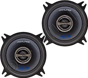 Alpine Type S SPS 410 4 Coaxial 2 Way Car Audio