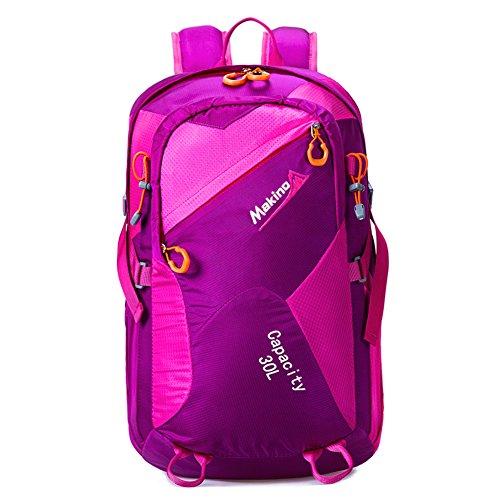 les hommes et les femmes en plein air multifonctions sac à dos / sac à bandoulière / sac à dos équitation / sac d'alpinisme-violet 30L