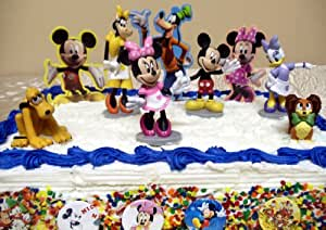 Amazon Com Adorable 15 Piece Mickey Mouse Clubhouse Cake