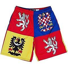 Czech Republic Coat of Arms Lacrosse Shorts