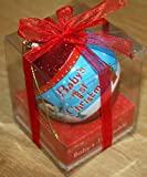 New Blue Baby's First 1st Hanging Christmas Tree Bauble Decoration Gift Boxed