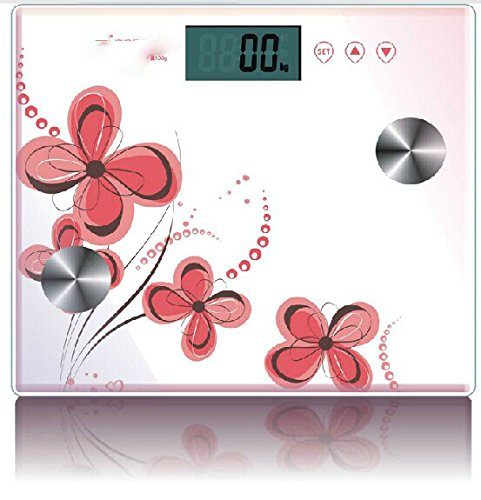 Delicate Circular Electronic Scale Body Balance Fat Balance Scales The Human Body Scale Safe And Durable