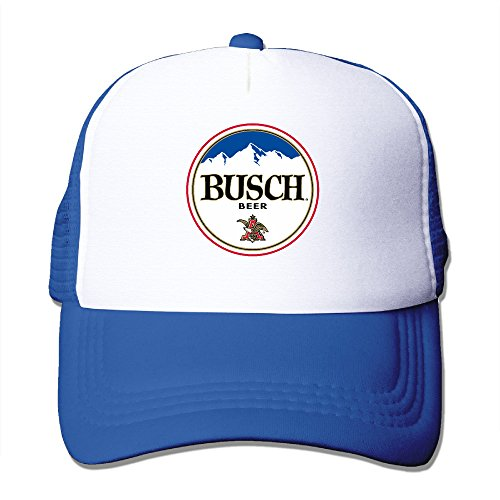 trucker-busch-light-beer-adjustable-mesh-back-baseball-cap-royalblue