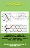 ELECTRICIAN S BOOK-THE EXPERIMENT OF ELECTRICITY PRODUCTION (20 MODULES SERIES)Three Phase Generator-Voltage and Current Diagram