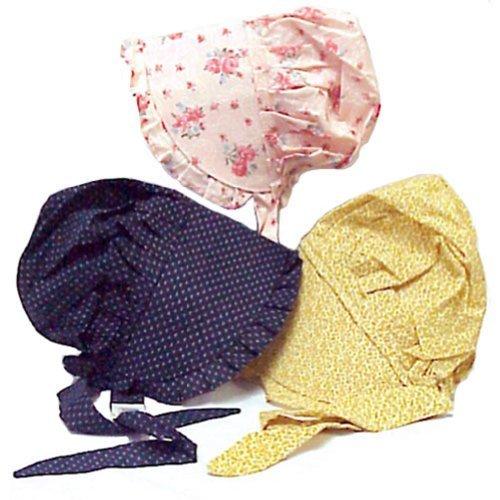 Medium Childs Print Prairie Sun Bonnet Color Will Vary