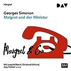 Maigret und der Minister (Kommissar Maigret 46) Hörspiel von Georges Simenon Gesprochen von: Leopold Biberti, Ekkehard Kohlund