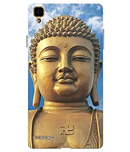 Case Cover Religion Printed Multicolor soft Back Cover For Oppo F1 Selfie