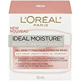 L'Oreal Paris Ideal Moisture Even Skin Tone Day/Night Cream, All Skin Types, 1.7 Fluid Ounce