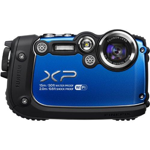 Fujifilm FinePix XP200 Blue 16MP Waterproof Digital