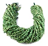 Sumit 5 Strands Natural Aventurine Chips Beads Uncut Freeform Bead 15.5