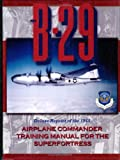 Image of B-29 Airplane Commander Training Manual